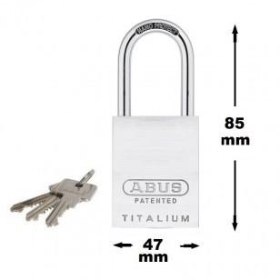 Abus Hangslot 83AL40 titanium