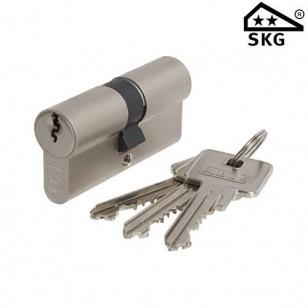 Sluitsysteem cilinderslot Abus E60 SKG2 dubbele cilinder