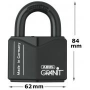 Abus Hangslot Granit 37/55