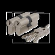 Cilinderslot Abus E60 SKG2 dubbele cilinder gelijksluitend (2x)