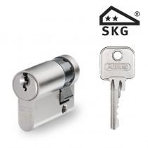 Cilinderslot Abus E60 SKG2 halve cilinder