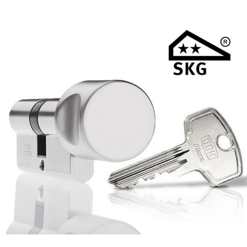 Cilinderslot Dom Plura SKG2 knopcilinder