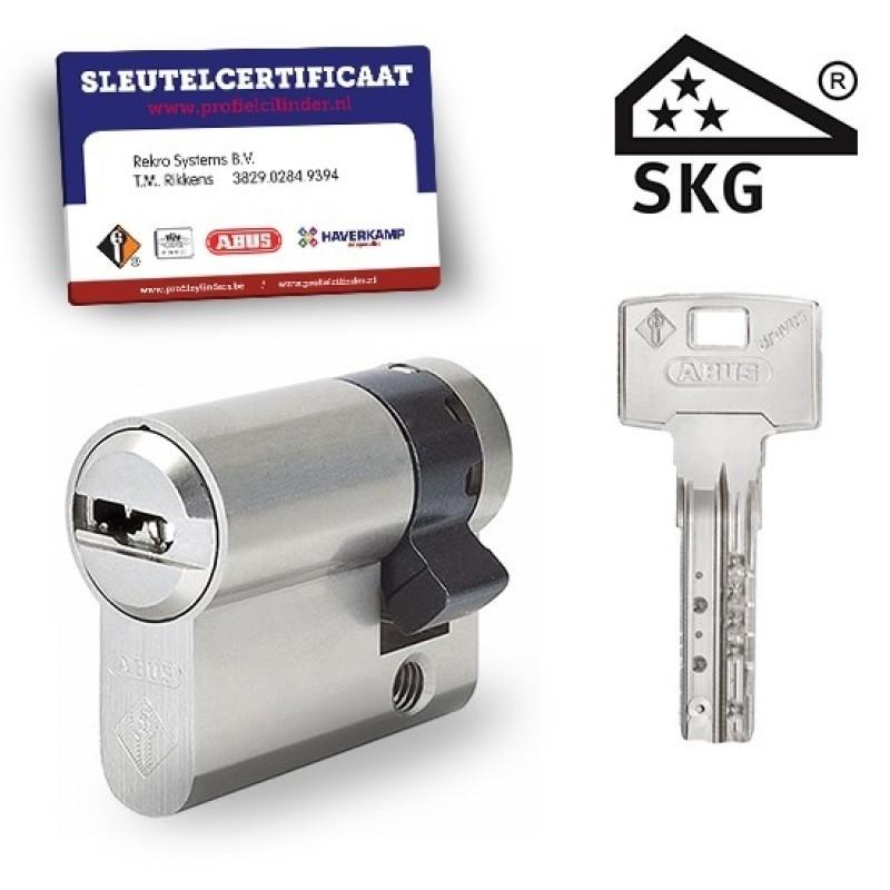 Cilinderslot Pfaffenhain Bravus SKG3 halve cilinder    Cilinderslot Pfaffenhain Bravus SKG3 halve cilinder