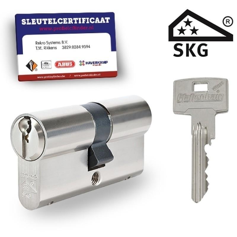 Dubbele cilinder met certificaat SKG3