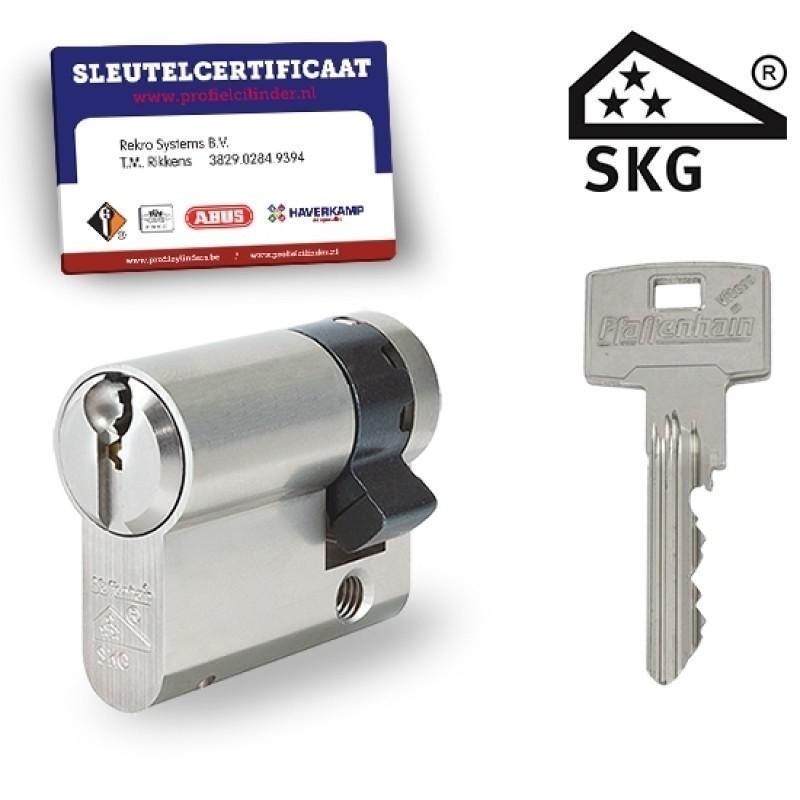 Halve cilinder met certificaat SKG3