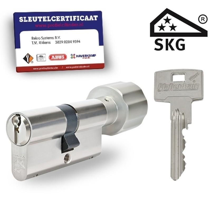 Knopcilinder met certificaat SKG3