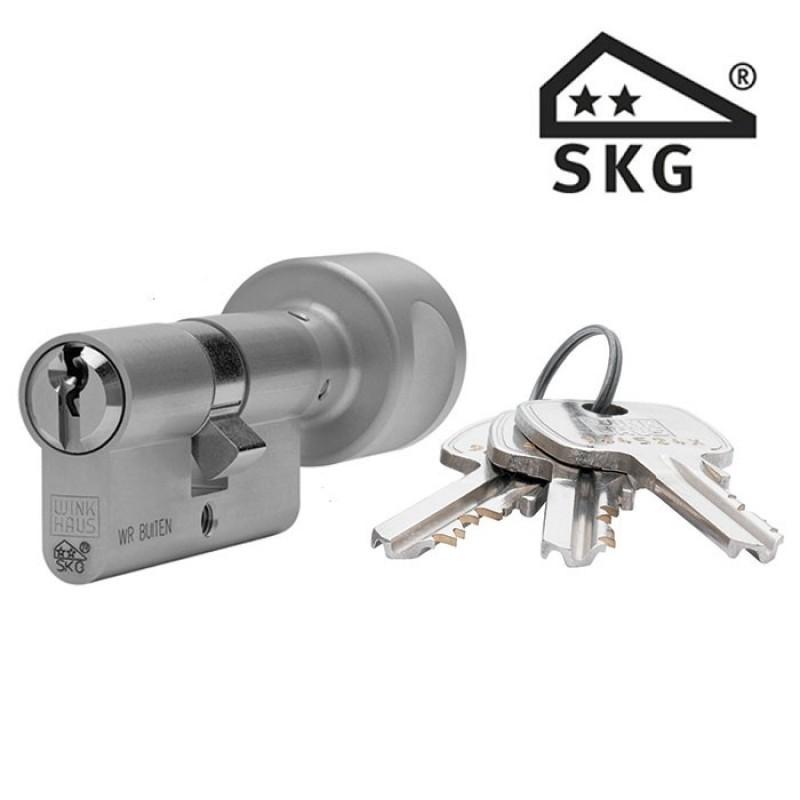 Cilinderslot Winkhaus XR knopcilinder SKG2