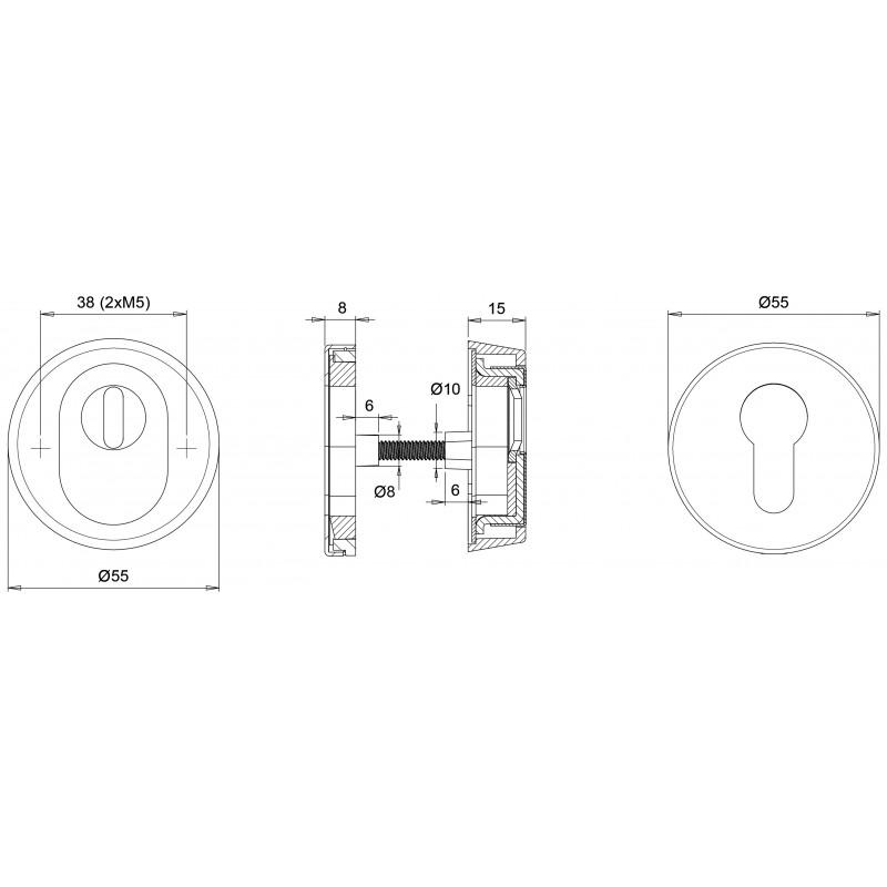 Kerntrekrozet Dieckmann Den Bosch D7053