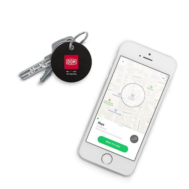 DOM Chipolo BLE sleutel en telefoonvinder smartphone