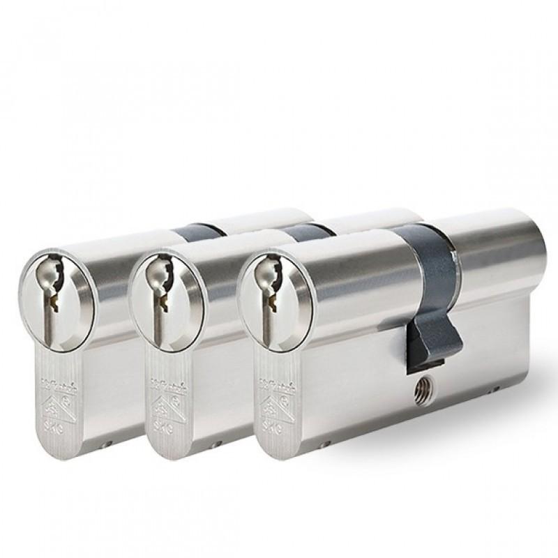 3 gelijksluitende cilindersloten Pfaffenhain SKG3