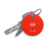 DOM Chipolo BLE sleutel en telefoonvinder rood