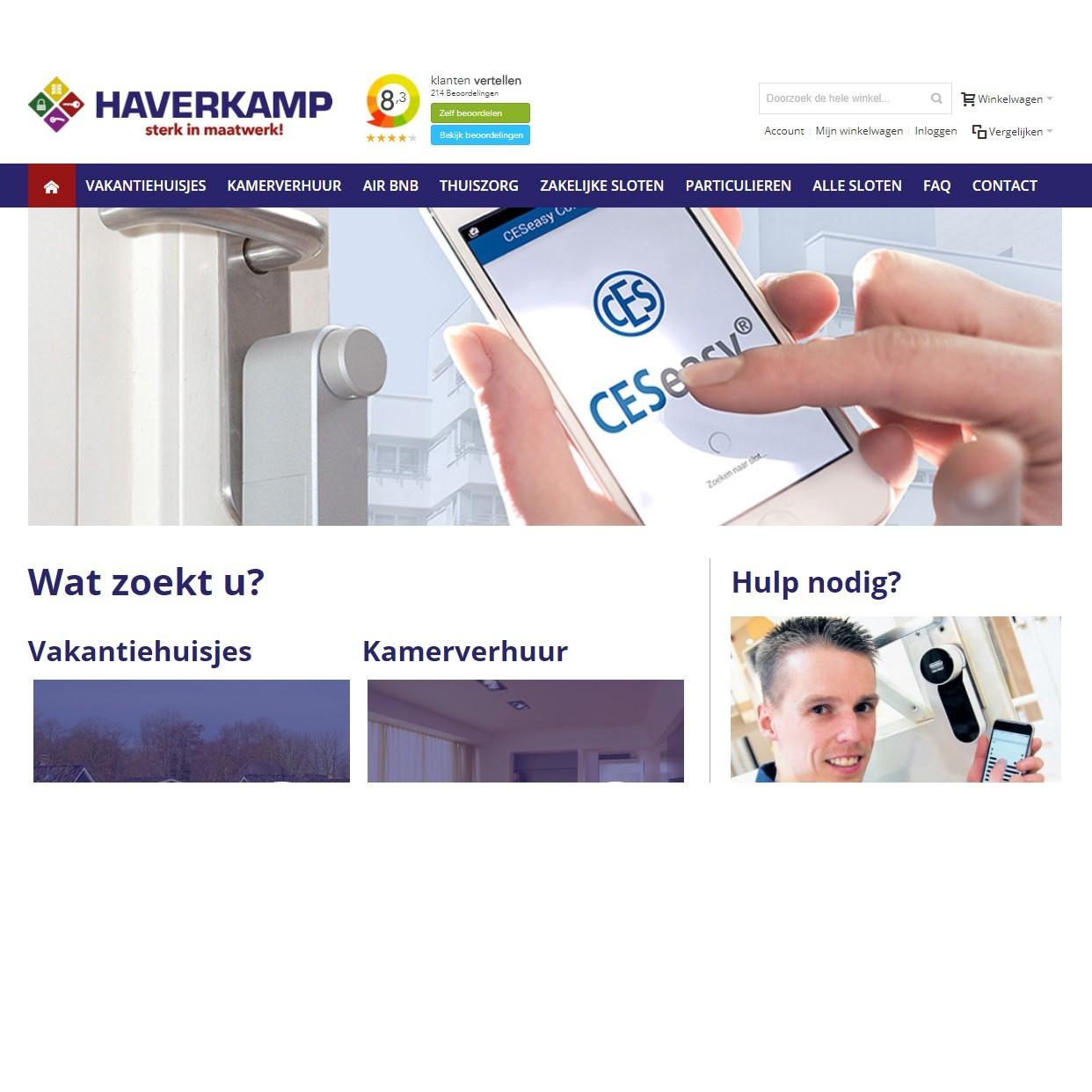 Slimmeslotenshop.nl is online!
